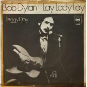 "LAY LADY LAY / PEGGY DAY  - 7"" ITALY"
