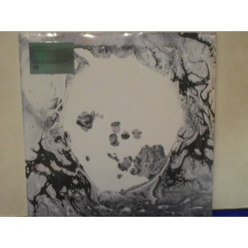 A MOON SHAPED POOL - 2 X WHITE VINYL