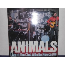 LIVE AT THE CLUB A GO GO NEWCASTLE - LP UK