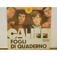 """FOGLI DI QUADERNO - 7"""" ITALY"""