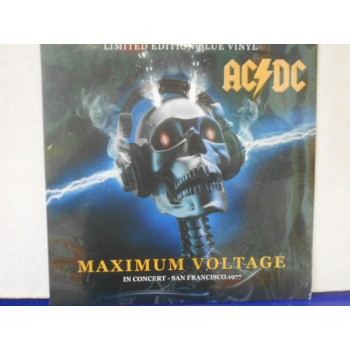 MAXIMUM VOLTAGE IN CONCERT SAN FRANCISCO 1977 - BLUE VINYL