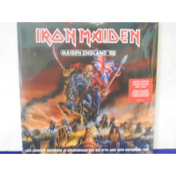 MAIDEN ENGLAND '88 - 2 X PICTURE DISC