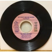 "WE DON'T DIG NO BUSING - 7"" USA"