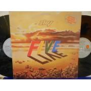 SKY FIVE LIVE - 2 LP