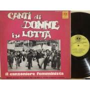 CANTI DI DONNE IN LOTTA - 1°st ITALY