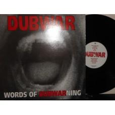 WORDS OF DUBWARNING - 1°st UK