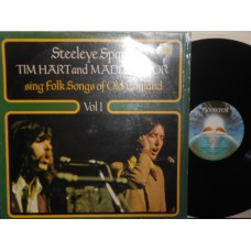 STEELEYE SPAN'S TIM HART AND MADDY PRIOR SING FOLK SONGS OF OLD ENGLAND VOL.1 - LP UK