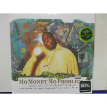 """MO MONEY MO PROBLEMS - 12"""" GREEN"""