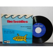 "YELLOW SUBMARINE - 7"" EP SPAGNA"