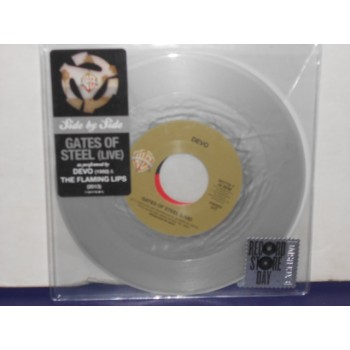 "GATES OF STEEL - 7"" SILVER VINYL"