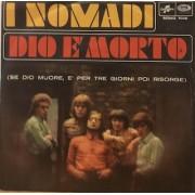 """DIO E' MORTO - 7"""" ITALY"""