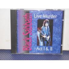 LIVE MURDER ACT I & II - 2 CD