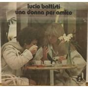 """UNA DONNA PER AMICO - 7"""" ITALY"""