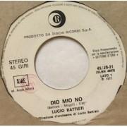 """DIO MIO NO - 7"""" ITALY"""