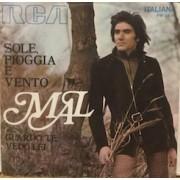 """SOLE PIOGGIA E VENTO - 7"""" ITALY"""