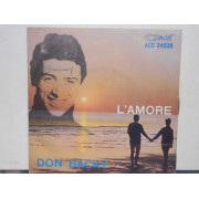 "L'AMORE - 7"" ITALY"