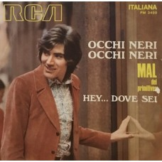 """OCCHI NERI OCCHI NERI - 7"""" ITALY"""