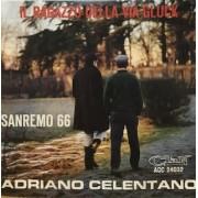 """IL RAGAZZO DELLA VIA GLUCK - 7"""" ITALY"""