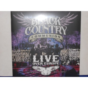 LIVE OVER EUROPE - 2 LP