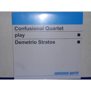 CONFUSIONAL QUARTET PLAY DEMETRIO STRATOS - 180 GRAM