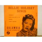 """BILLIE HOLIDAY SINGS - 7"""" EP"""