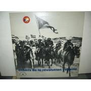 CHANTS DE LA REVOLUTION CUBAINE - LP FRANCIA
