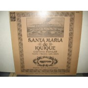 SANTA MARIA DE IQUIQUE - CANTATA POPULAR - LP ITALY