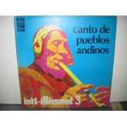 CANTO DE PUEBLOS ANDINOS - INTI-ILLIMANI 3 - LP ITALY