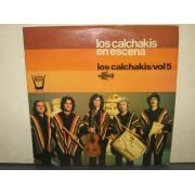 LOS CALCHAKIS EN ESCENA - LP SPAGNA