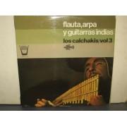 FLAUTA ARPA Y GUITARRA INDIAS - LP SPAGNA