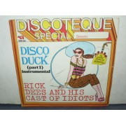"DISCO DUCK PART  - 7"" ITALY"