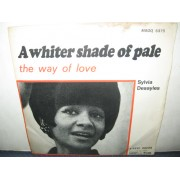 "A WHITER SHADE OF PALE / THE WAY OF LOVE - 7"" ITALY"