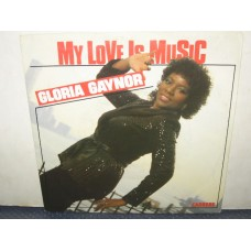 """MY LOVE IS MUSIC / IF I NEED YOU - 7"""" ITALY"""