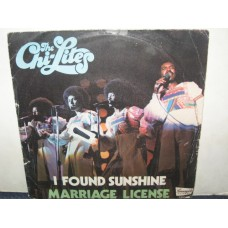 "I FOUND SUNSHINE / MARRIAGE LICENSE - 7"" ITALY"
