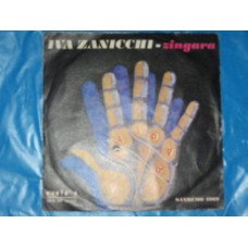 """ZINGARA / IO SOGNO - 7"""" ITALY"""