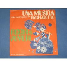 """UNA MUSICA / IL FANTASMA - 7"""" ITALY"""