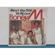 "MARY'S BOY CHILD / OH MY LORD - 7"" ITALY"