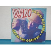 "GET INTO GROOVE / STEP UP - 7"" ITALY"