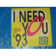 "I NEED YOU '93 / SMOOTH - 7"" USA"