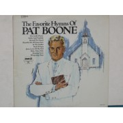 THE FAVORITE HYMNS OF PAT BOONE - LP USA