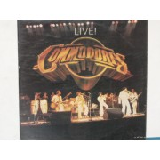 COMMODORES LIVE ! - 2 LP