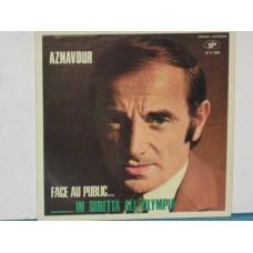 FACE AU PUBLIC...IN DIRETTA ALL'OLYMPIA - LP ITALY