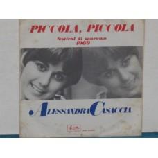 """PICCOLA PICCOLA / UN VOLO NELLA NOTTE - 7"""""""