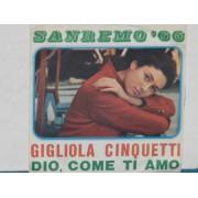 """DIO COME TI AMO / VUOI - 7"""" ITALY"""