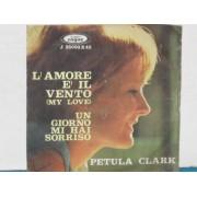 """L'AMORE E' IL VENTO - 7"""" ITALY"""