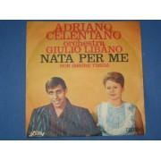 """NATA PER ME / NON ESSERE TIMIDA - 7"""" ITALY"""