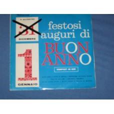 """FESTOSI AUGURI DI BUON ANNO - 7"""" ITALY"""