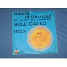 """SOLE GIALLO - 7"""" ITALY"""