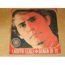 """SENZA DI TE / OSCURITA' - 7"""" ITALY"""