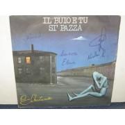 """IL BUIO E TU / SI PAZZA - 7"""" ITALIA"""